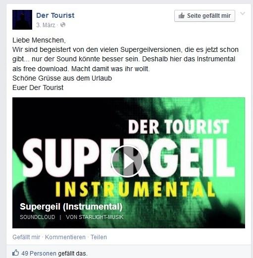 tourist-supergeil-machtwasihrwollt-fb